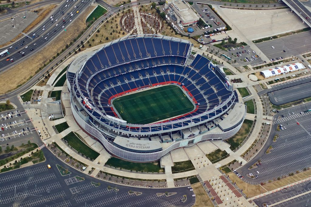 Sports Authority Field At Mile High New Mile High Stadium
