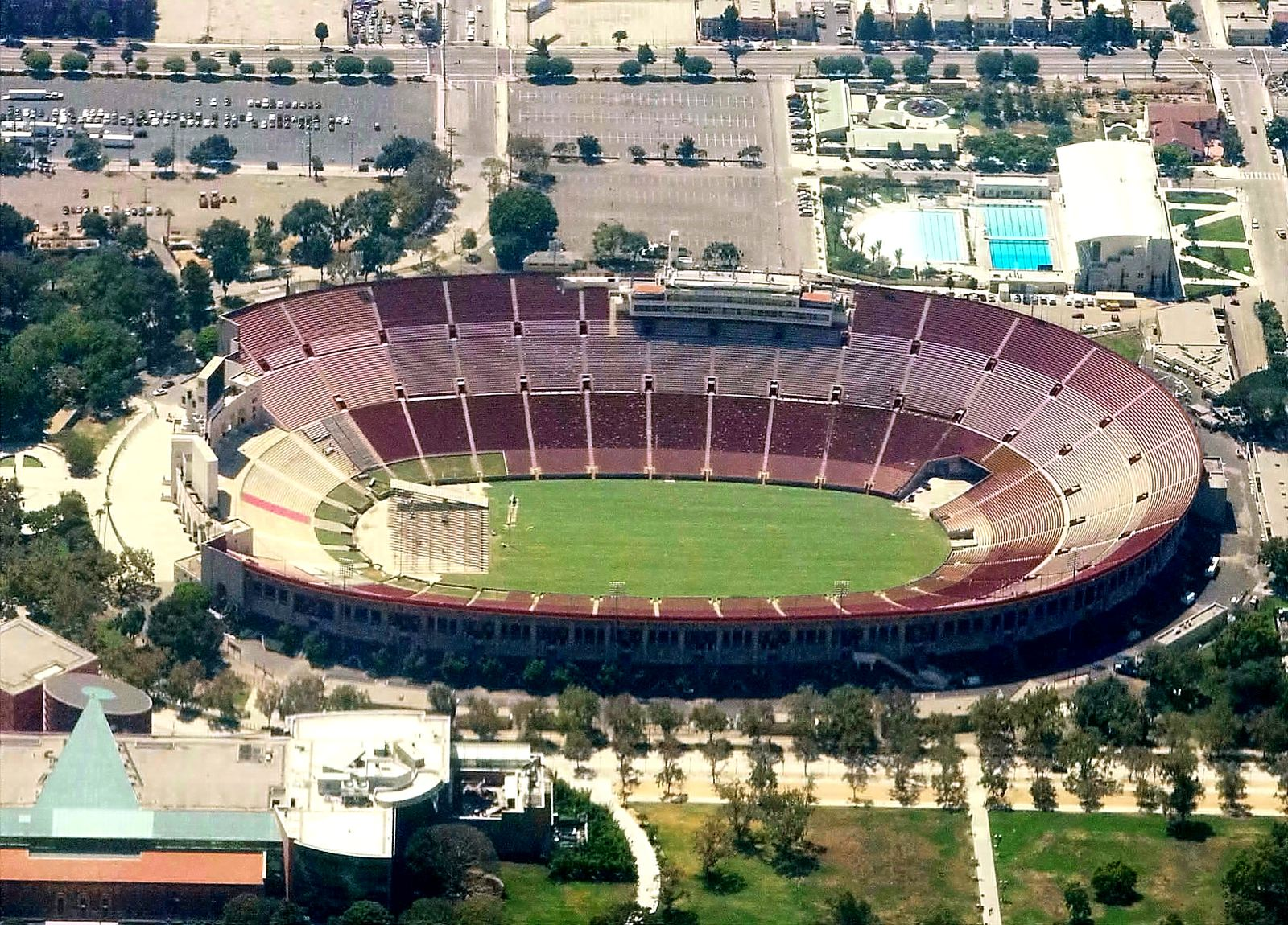 Los Angeles Memorial Coliseum Stadiumdb Com