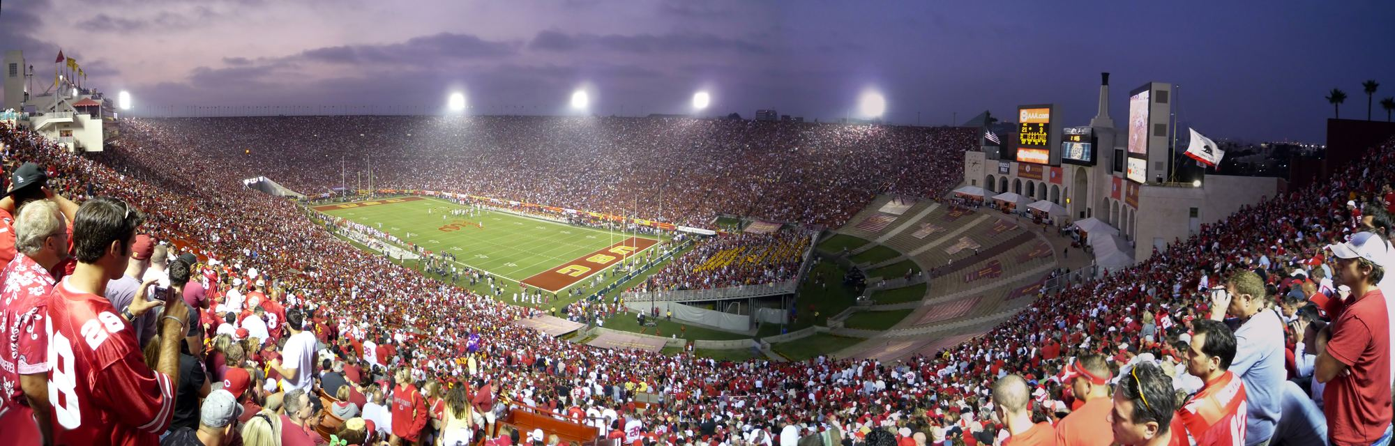 Los Angeles Memorial Coliseum Stadiumdb Com