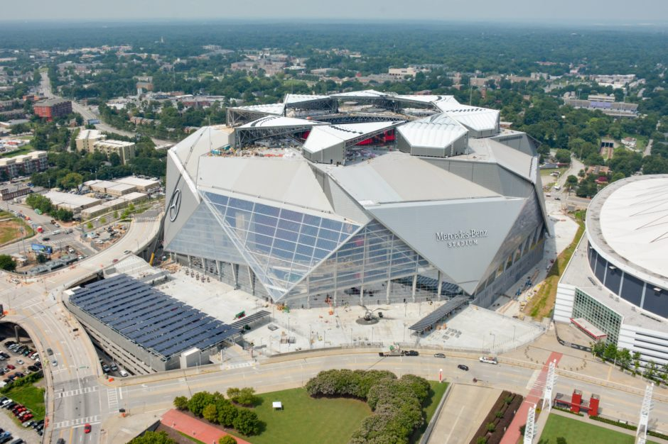 Mercedes benz stadium for Who owns mercedes benz stadium
