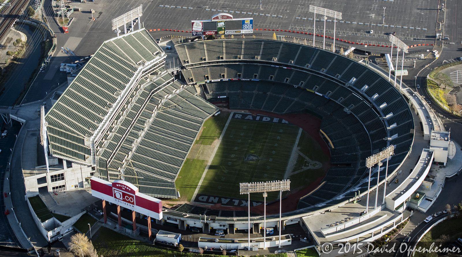 O Co Coliseum Oakland Coliseum Stadiumdb Com