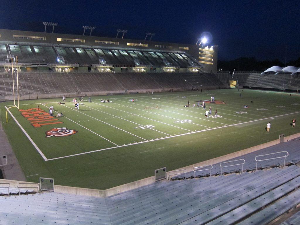 princeton university stadium powers field stadiumdb com