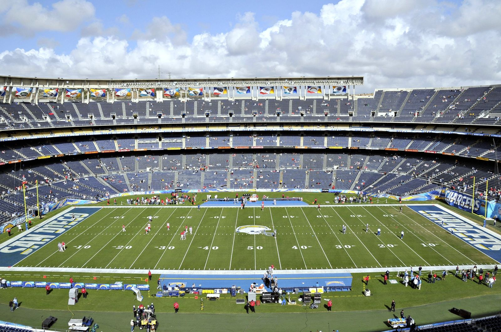 Qualcomm Stadium – StadiumDB.com Qualcomm Stadium Chargers