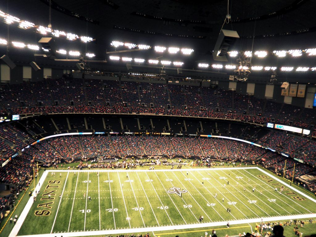 ... Mercedes Benz Superdome