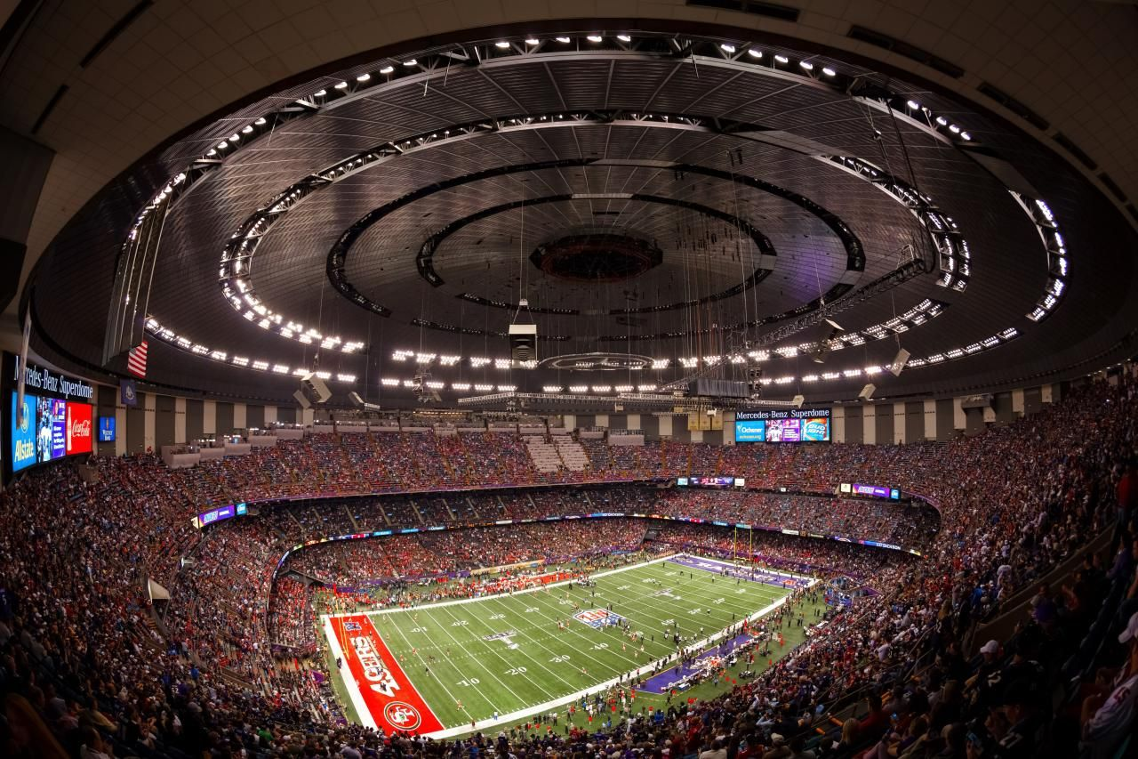 Wonderful ... Mercedes Benz Superdome