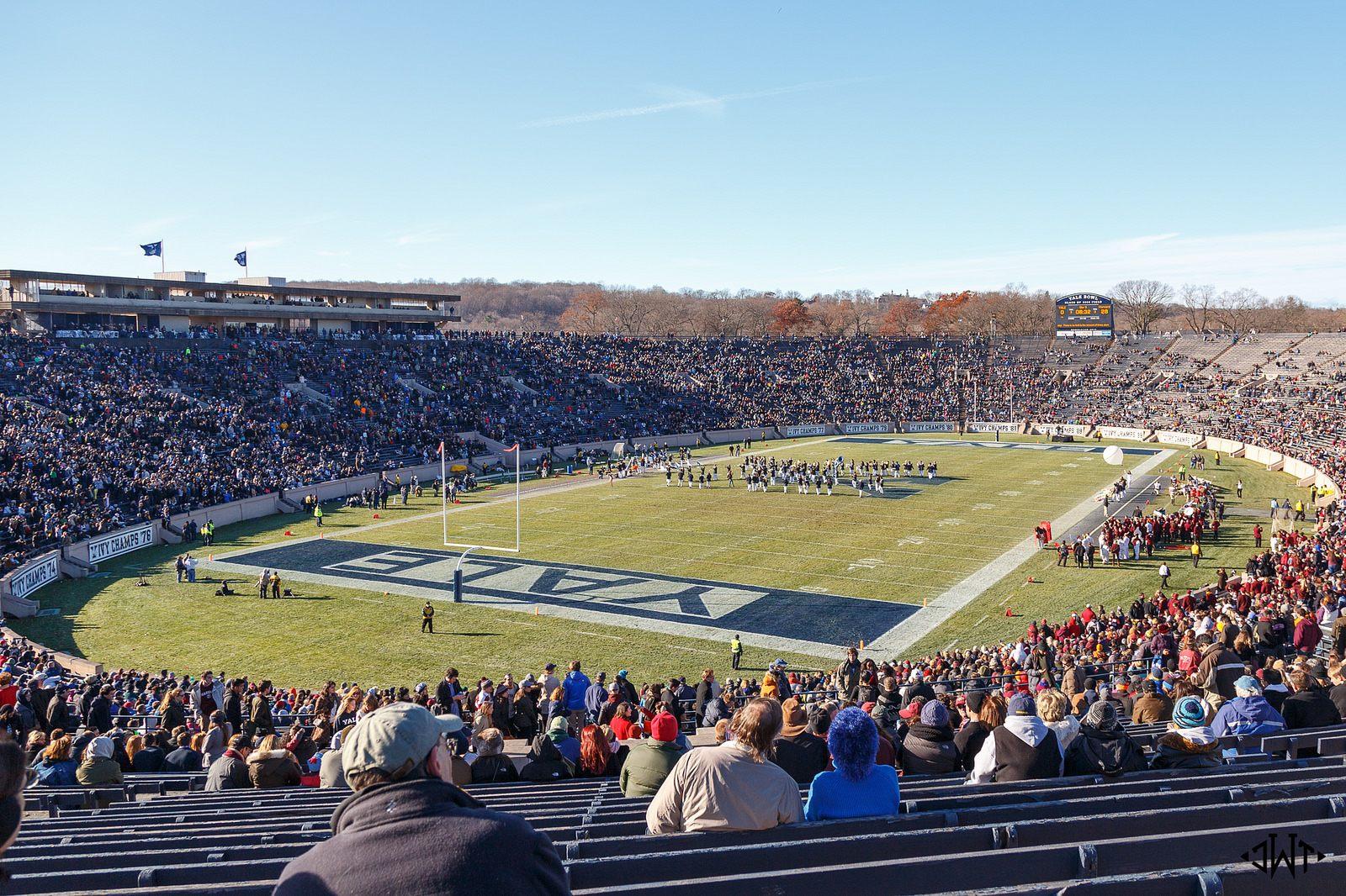 Yale Bowl Stadiumdb Com